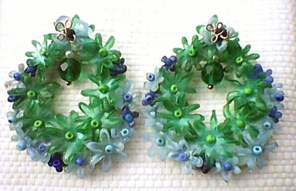 Handmade earrings. Sole piece   / Made in Italy