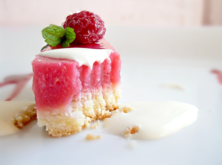 Lick The Spoon: Raspberry Lemonade Slice