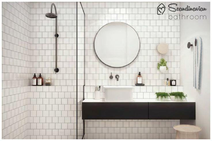 Banheiro escandinavo