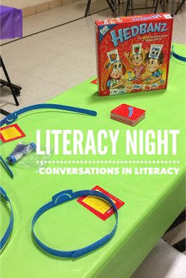 Game Night for Family Literacy