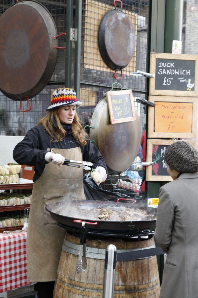 Borough Market, London, England, UK