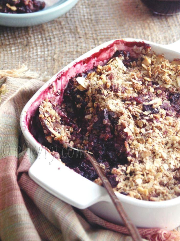 Berry Nut Crisp 2 | food | Pinterest
