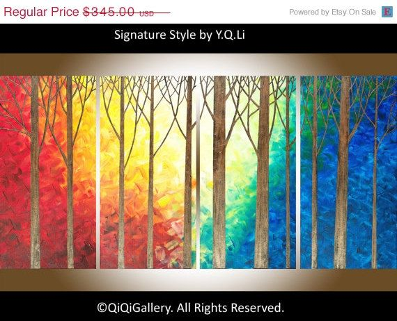 Hey, I found this really awesome Etsy listing at https://www.etsy.com/listing/181538426/48-large-oil-landscape-painting-textured