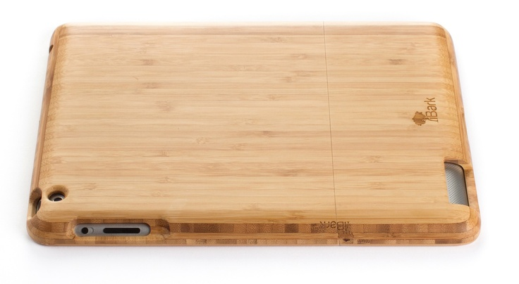 'The Natural' Bamboo iPad Case | iBark Cases