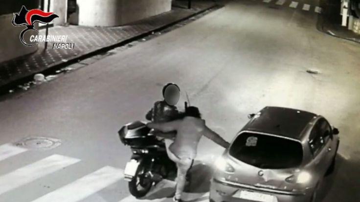 Incredibile furto con tutta la famiglia: da Castellammare a Sorrento per rubare uno scooter
