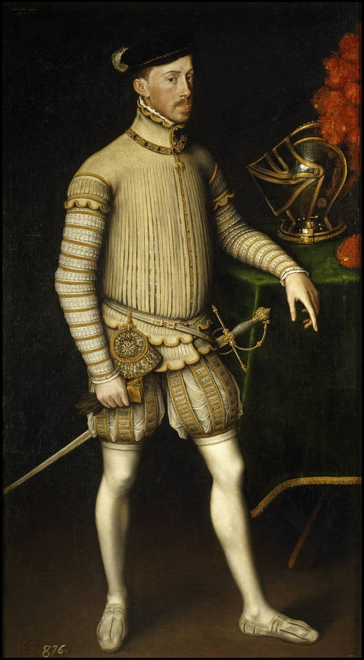 Portrait de l'empereur Maximilien II, 1550 Antonio Moro