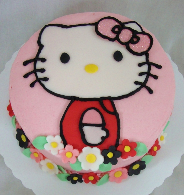 4000 children's Birthday Cakes...Hello Kitty cake, my niece Ashlyn would love this!
