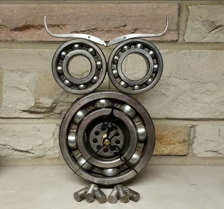 Steampunk owl clock Created by Atomic Vault 9 See on etsy/Facebook