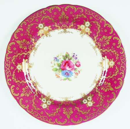 \ Royalty\  china pattern in red with pink flowers \u0026 intricate gold trim accents from  sc 1 st  Pinterest & 17 best History of China Patterns images on Pinterest | China ...
