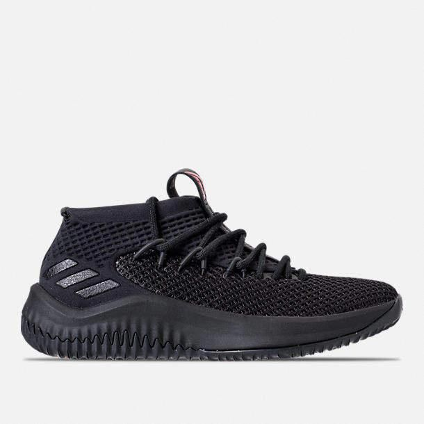 "adidas Dame 4 ""Dame Time"" Core BlackScarlet For Sale"