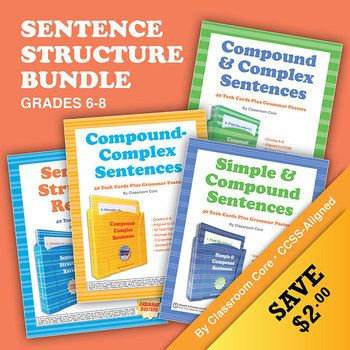 sentence structure practice Practice identifying simple, compound, complex, and compound / complex sentences.