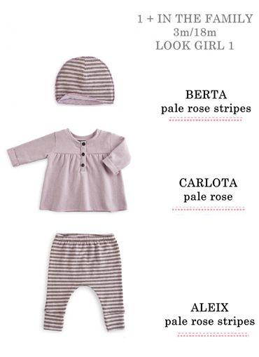 ..e per le più piccole, un tenero #outfit firmato #1+in the family http://www.cocochic.it/it/home/19-1in-the-family-cappellino-righe-antracite.html http://www.cocochic.it/it/home/126-1-in-the-family-t-shirt-prugna.html http://www.cocochic.it/it/home/12-leggings-righe-rosa.html #bimbibelli