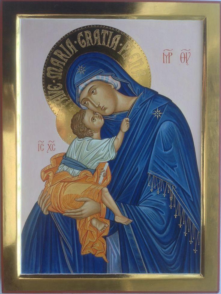 Foto: Madre di Dio di Chora (particolare), 40x30 cm