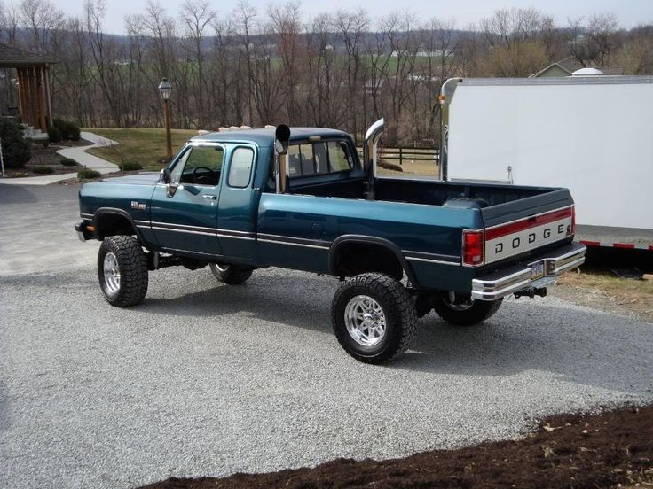 Image result for lifted: '92 dodge diesel trucks