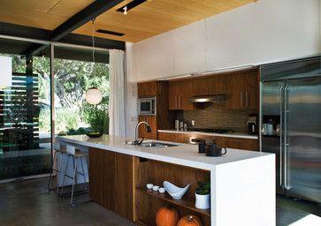 San Gabriel House - Modern - Kitchen - Los Angeles - O plus L