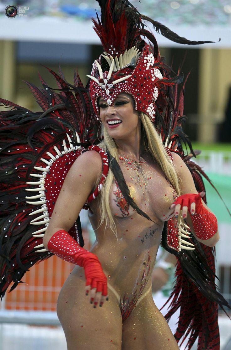Brazilian samba women sucking dicking during carnival in rio 2