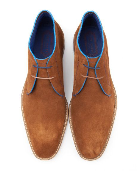 Casual ankle boots - Tan | Footwear | Ted Baker UK