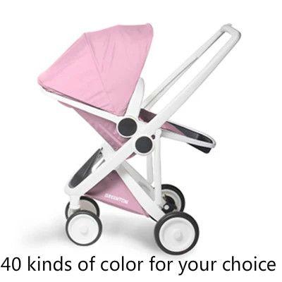 High environmental protection material stroller landscape two-way portable folding umbrella