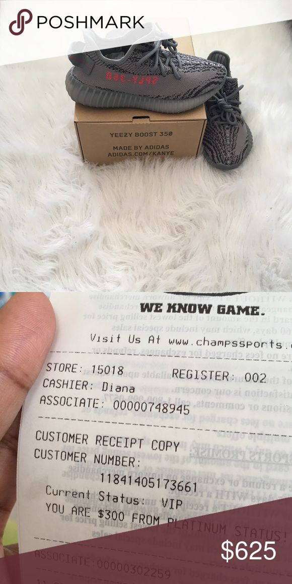 Yeezy Boost 350 v2 Yeezy boots 350 v2 . New, never worn in the box. I won a raffle for a size 5 and size 6 from foot locker and champs. Comes with receipt! Yeezy Shoes Athletic Shoes