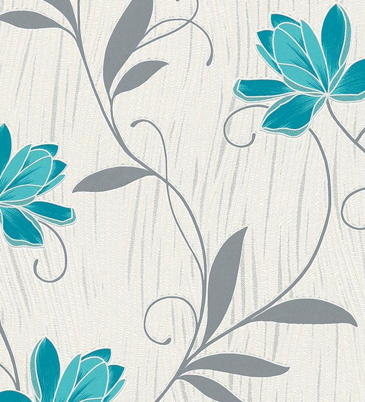 papel pintado tonos turquesa - Buscar con Google