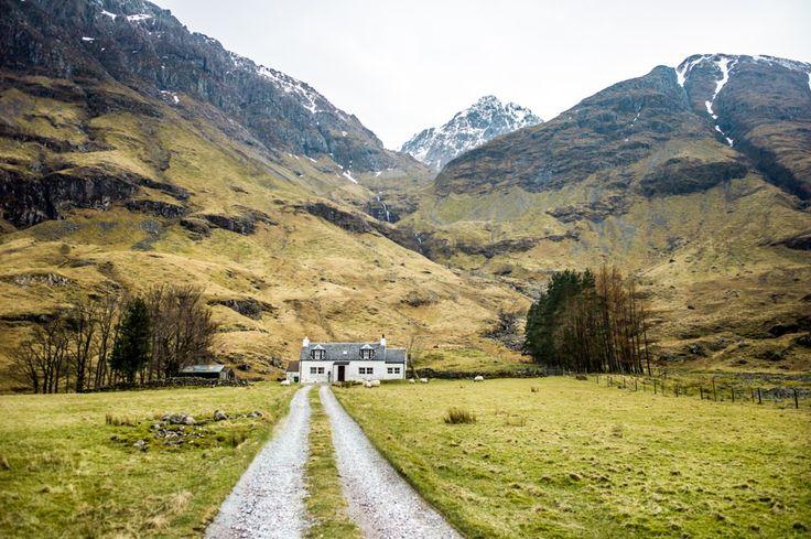 La maison de Glen Coe, Écosse