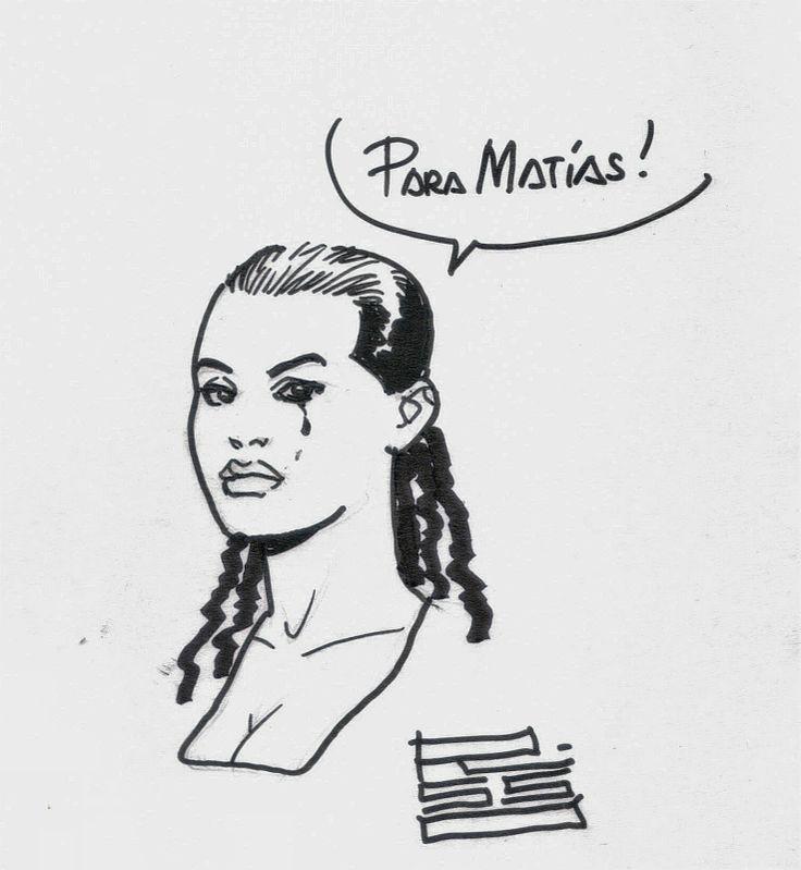 MIS DIBUJOS DE DIBUJANTES DE COMIC 100 balas de Eduardo Risso  #Dc  #Comic #Superhero #Penciller #Vertigo #100bullets