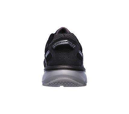 Skechers Men's Bowerz Memory Foam Lace Up Jogger Shoes (Black/Charcoal)