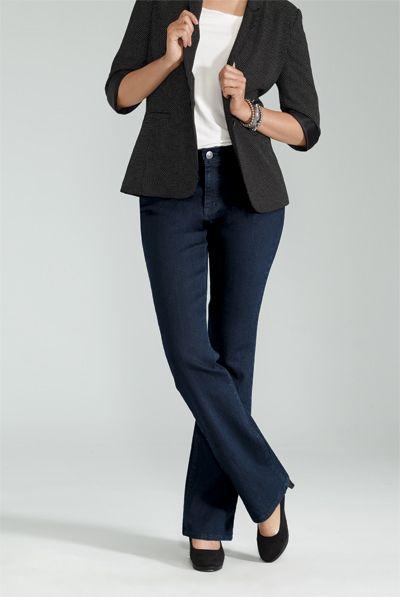 Slight Boot Cut Jean / Jean Jambe Semi-Évasée #ReitmansJeans #Jeans #Bleu #Blue #BlueJeans #Style