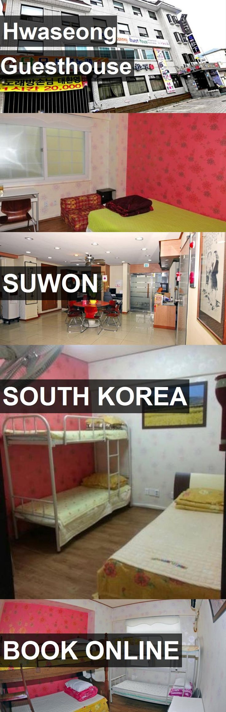 Hotel Hwaseong Guesthouse in Suwon, South Korea. For more information, photos, reviews and best prices please follow the link. #SouthKorea #Suwon #travel #vacation #hotel
