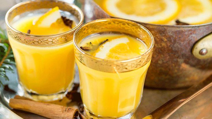 Varm juldrink med apelsin recept