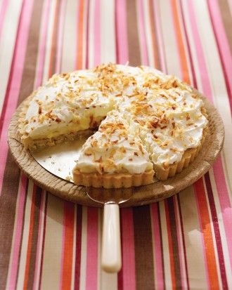 """See the """"Coconut Cream Tart"""" in our Easter Desserts gallery   – Easter Ideas and Food"""