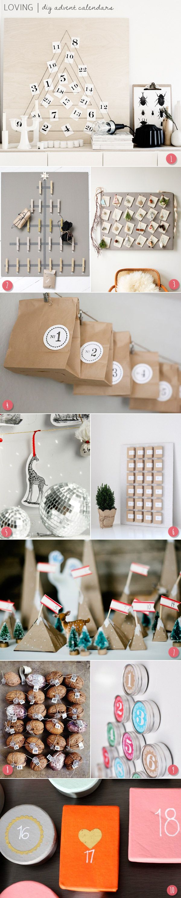 Loving Advent Calendars for #Christmas and the holiday season! super love the modern look to these