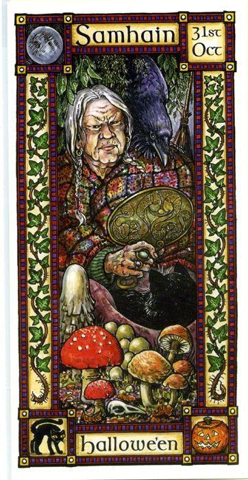 The Goddess and the Green Man   Samhain Halloween   Samhain Halloween