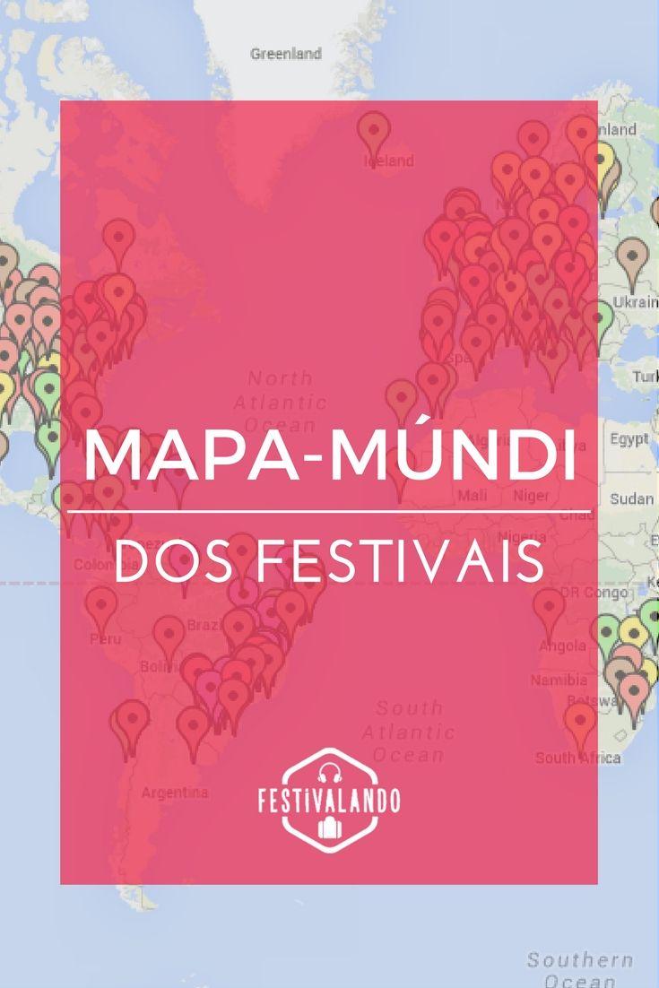 Dicas de viagem, mapas, mapas de viagem, festivais de música, festivais na Europa, festivais nos Estados Unidos, festivais de verão