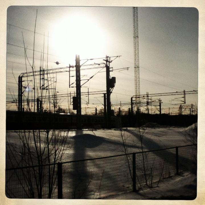 Railroads, Helsinki, March 2013