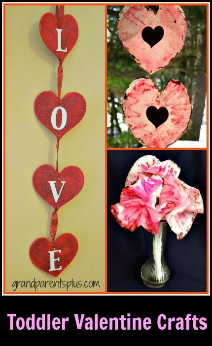 Need something to keep your toddler occupied for a craft? These Toddler Valentine Crafts are easy to do and use materials you probably have on hand or are inexpensive to buy. The Toddler Valentine Crafts are easily made by your child or grandchild, but need some final putting together by an adult! Supervision and a paint shirt are recommended, too!