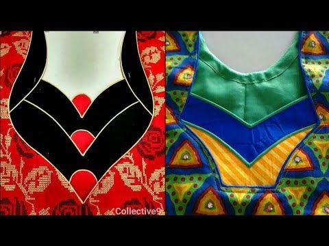 Latest Designer Saree Blouse Designs // Blouse Patterns - YouTube