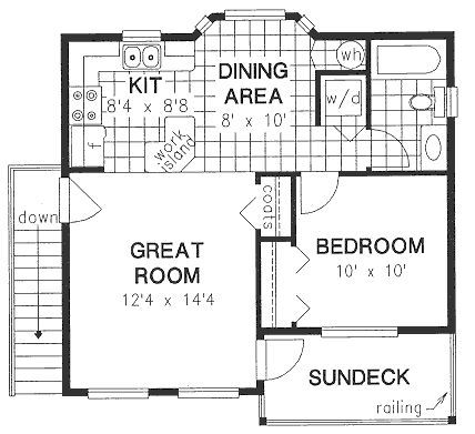 25 best images about garage conversions on pinterest for Garage apartment plans with deck