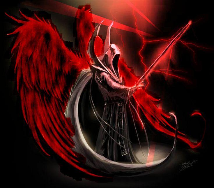 Female Dark Angel | Demon Of Death (Fantasy RP) [Accepting ...