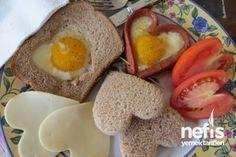 Sevgiliye Kahvaltı Tabağı