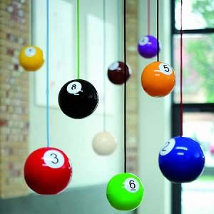 Now you can give your game room or any other area in the house a whimsical feel with the unique pool ball lights illuminating the room. These unique ceiling lamps are made to look like billiard balls and are available in various colors to suit any style. The pool ball lights will brighten up any…