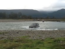 Exploring the great outdoors in Haast with the 4WD club.. sooo much fun!!