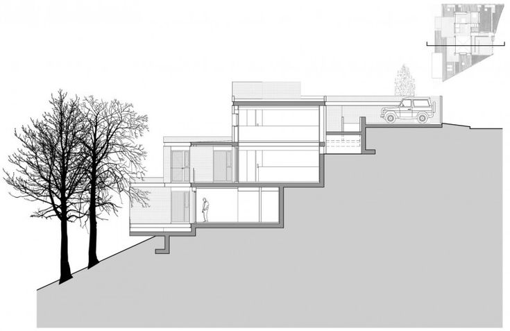 house design steep site - Google Search