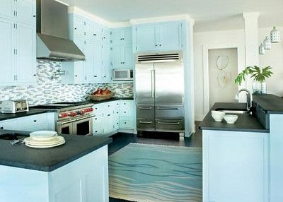 Tiffany Blue Kitchen Decor