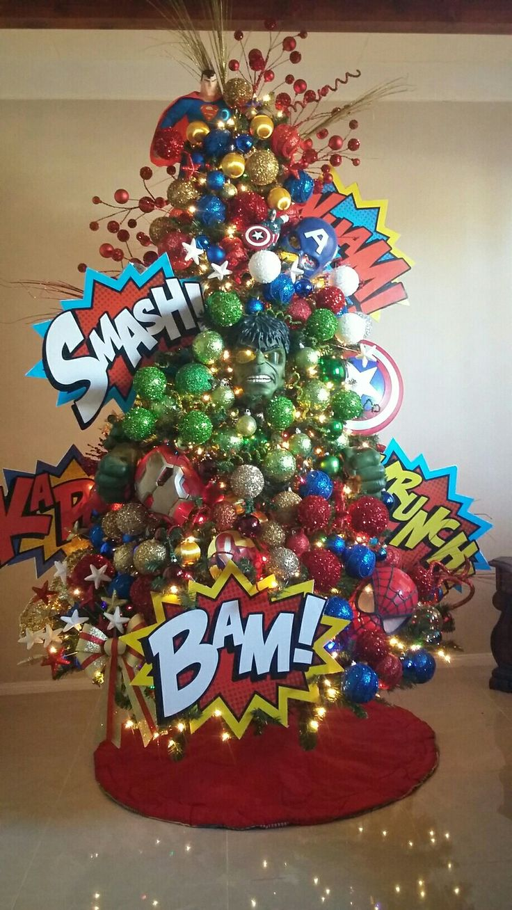 25 Unique Themed Christmas Trees Ideas On Pinterest