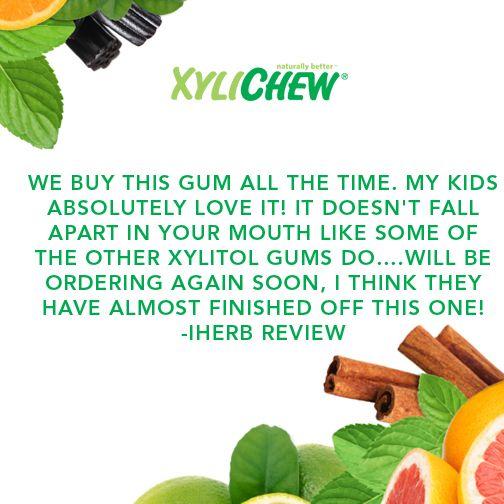 Chew more Xylichew!