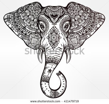 25 best Elephants And Paisley Tribal Tattoos images on Pinterest ...