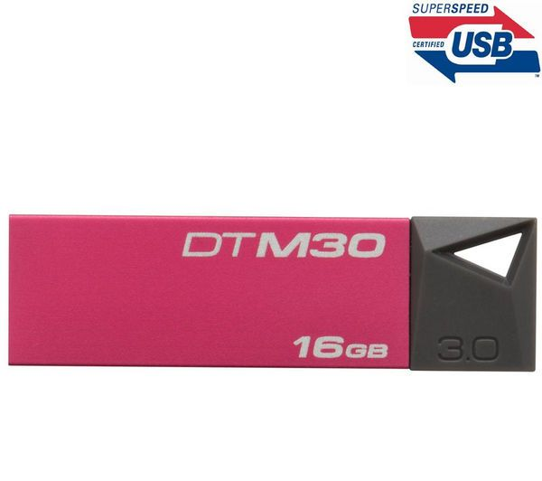 KINGSTON DataTraveler Mini 3.0 - 16 GB - rosso - Chiavetta USB 3.0 + Custodia US