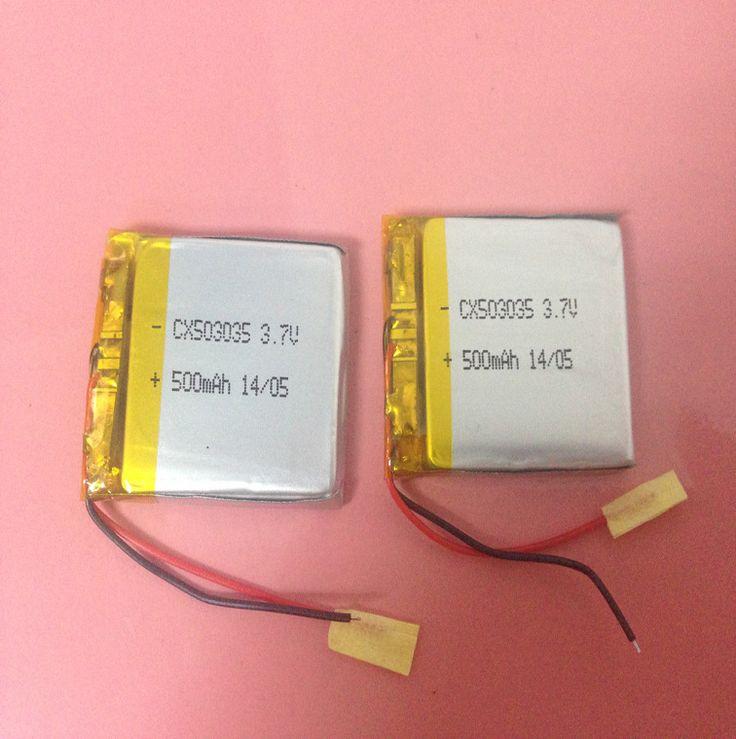503035 батарея лития полимера 3.7 В аудио плеер тахограф медицинское оборудование литиевые батареи