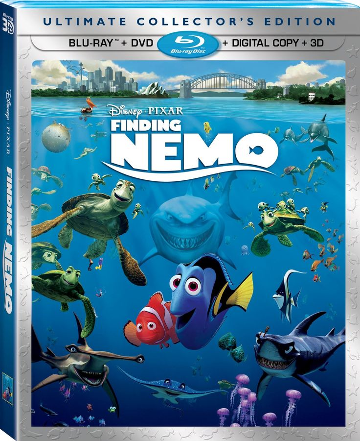 Finding Nemo 3D Blu-ray: Ultimate Collector's Edition | PIXAR